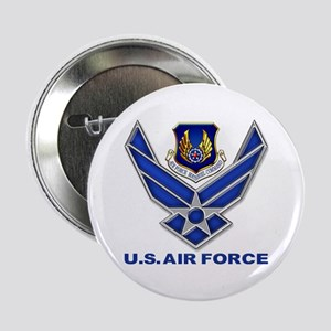 "Air Materiel Command 2.25&Quot; 2.25"" Button"