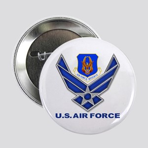 "Reserve Command Usaf 2.25&Quot; 2.25"" Button"