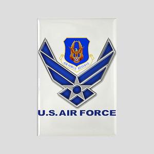 Reserve Command USAF Rectangle Magnet