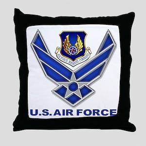 Air Materiel Command Throw Pillow