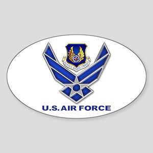 Air Materiel Command Sticker (Oval) Sticker (Oval)