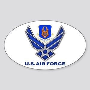 Reserve Command USAF Sticker (Oval) Sticker (Oval)