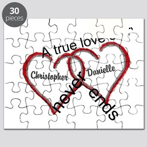 A true love story: personalize Puzzle