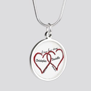 A True Love Story: Personali Silver Round Necklace