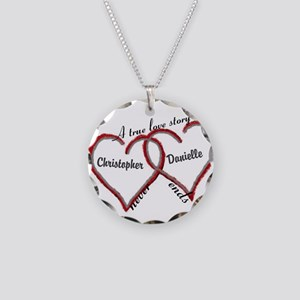 A true love story: personalize Necklace