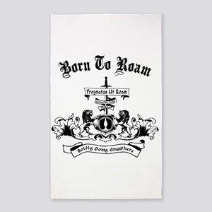 B2R Coat of Arms 3'x5' Area Rug