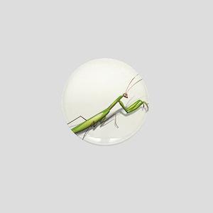 Praying Mantis Left Mini Button
