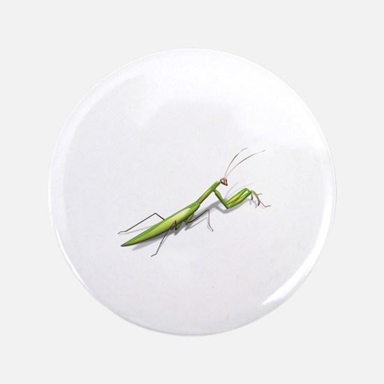"""Praying Mantis Left 3.5"""" Button (100 pack)"""