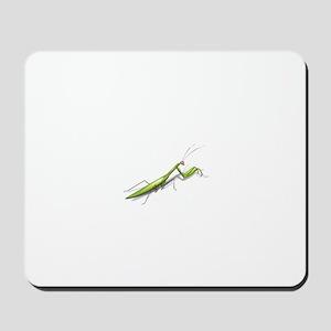 Praying Mantis Left Mousepad