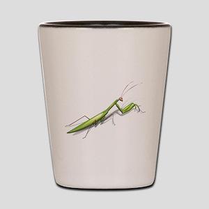 Praying Mantis Left Shot Glass