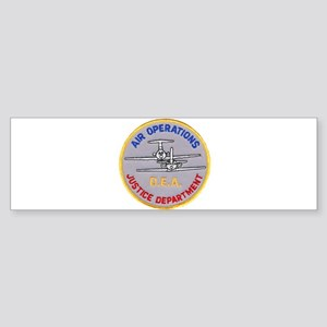 D.E.A. Air Operations Bumper Sticker