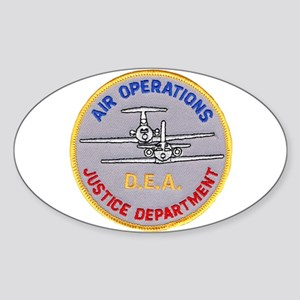 D.E.A. Air Operations Sticker