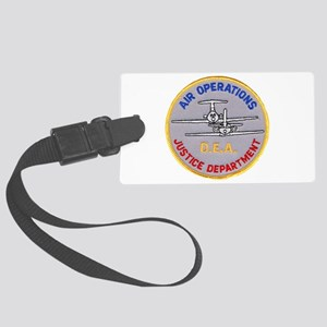 D.E.A. Air Operations Luggage Tag