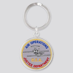 D.E.A. Air Operations Keychains