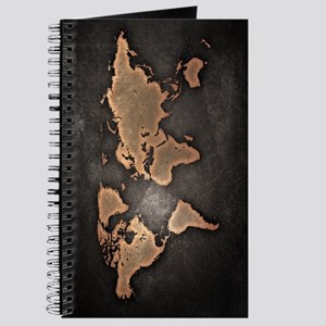 Antique world maps notebooks cafepress vintage world map journal gumiabroncs