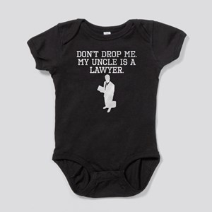 My Uncle Is A Lawyer Baby Bodysuit