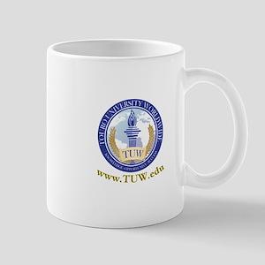 Touro University Worldwide school logo Mugs