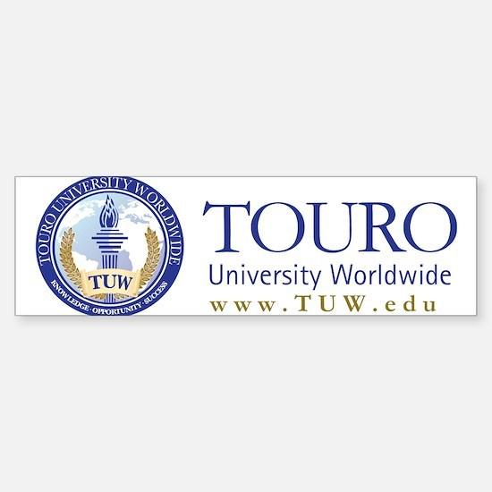 Tuw Logo + Name Sticker (Bumper)