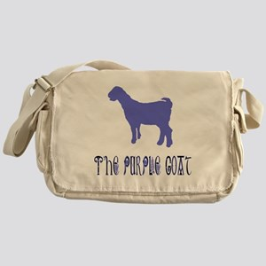 The Purple Goat Messenger Bag