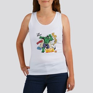 Hulk Smash Women's Tank Top