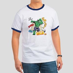 Hulk Smash Ringer T