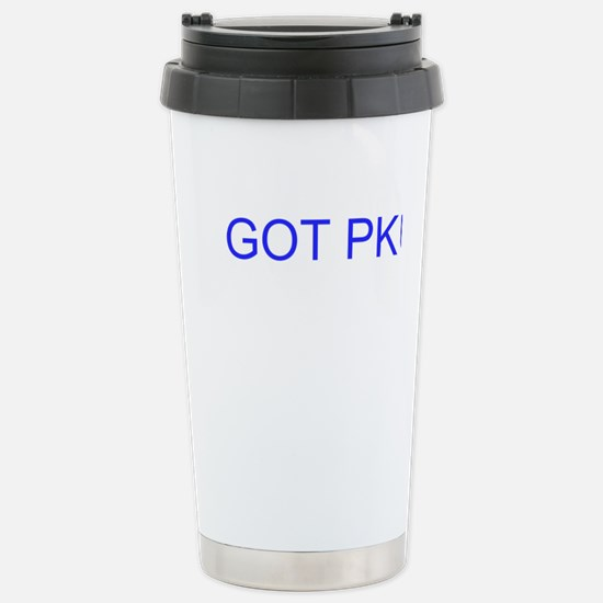 GOT PKU? Travel Mug