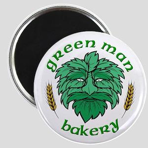 Green Man Bakery Logo Magnet