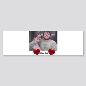 Personalize Picture Name True Love Bumper Sticker