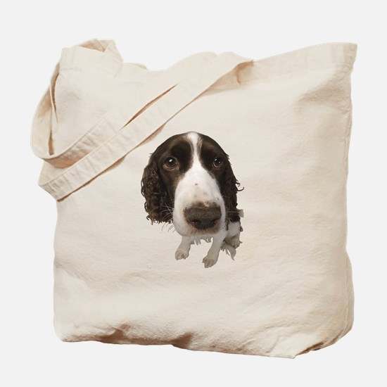 Springer Spaniel Close-Up Tote Bag