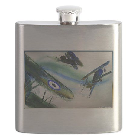 Planes, vintage fighters, Flask
