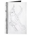 Cockatoo Parrot Cockatiel Bird Journal