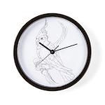 Cockatoo Parrot Cockatiel Bird Wall Clock