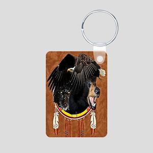 Eagle, Bear & Wolf Aluminum Photo Keychain