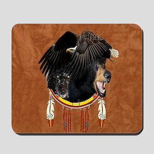Eagle, Bear & Wolf Mousepad