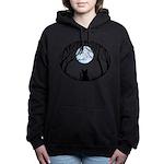 Fat Cat & Cat Lover Women's Hooded Sweatshirt