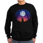 Fat Cat & Cat Lover Sweatshirt (dark)