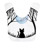 Fat Cat & Cat Lover Polyester Baby Bib