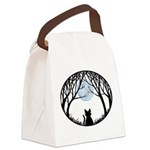 Fat Cat & Cat Lover Canvas Lunch Bag
