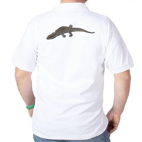 Monitor Lizard Golf Shirt