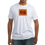 Butterfly Spirit Of Love T-Shirt Wh Fitted T-Shirt