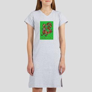 Zombie Squirrel Women's Nightshirt