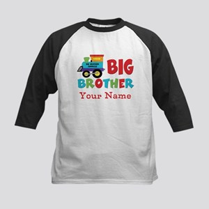 Big Brother Train Personalized Baseball Jersey