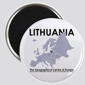 Centre of Europe Magnet