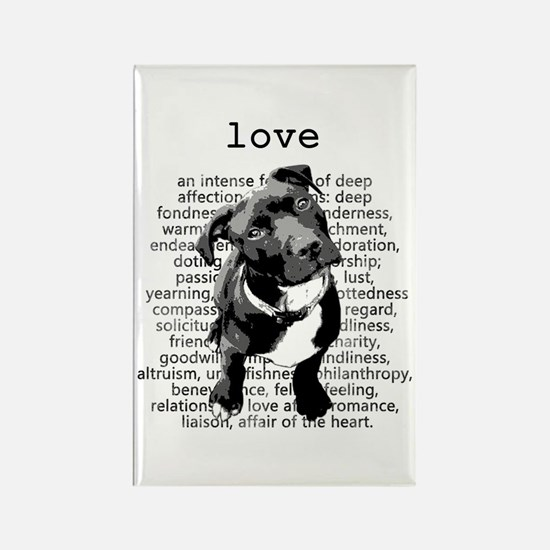 Pit Bull Love Magnets