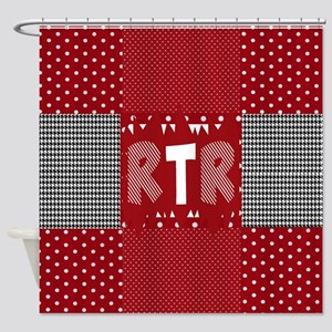 Houndstooth..RTR Shower Curtain