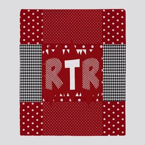 Houndstooth..Rtr Throw Blanket