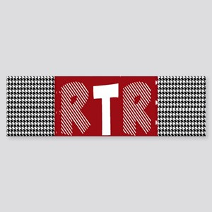 Houndstooth..RTR Bumper Sticker