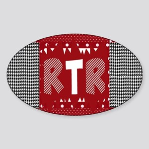 Houndstooth..RTR Sticker