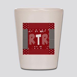 Houndstooth..RTR Shot Glass