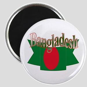 Bangladesh flag ribbon Magnet